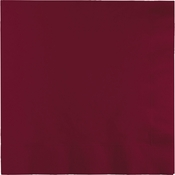 Burgundy Luncheon Napkins 3 ply 500 ct