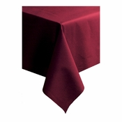 "Burgundy Linen-Like 50"" x 108"" Tablecloths sold in quantities of 1 / pkg, 20 pkgs / case"