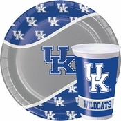 Brightly colored in blue and white, the University of Kentucky Tableware items are perfect for Wildcat tailgates, parties and more! Available in bulk pricing.