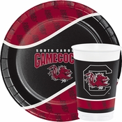 Celebrate college gameday at home or at the game with our select bulk priced collegiate items, like University of South Carolina Tableware.