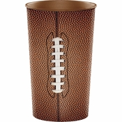 Football 22 oz Plastic Cup 20 ct