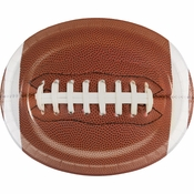 Touchdown Time Oval Plates 96 ct