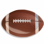 Football Plastic Trays 12 ct