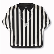 Referee Shirt Serving Trays 12 ct