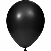 Black Latex Balloons sold in quantities of 15 / pkg, 12 pkgs / case