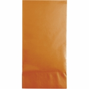 Pumpkin Spice Orange 3 Ply Guest Towels 192 ct