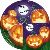 Glowing Pumpkins Party Supplies