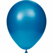 Blue Latex Balloons sold in quantities of 15 / pkg, 12 pkgs / case