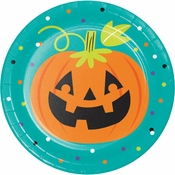 Friends of Halloween Dessert Plates 96 ct