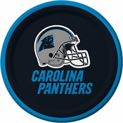 Carolina Panthers Dessert Plates