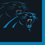 Carolina Panthers Beverage Napkins