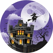 Haunted Mansion Dessert Plates 96 ct