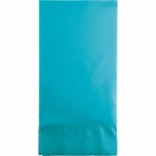 Touch of Color Bermuda Blue 3 Ply Guest Towels 192 ct in quantities of 16 / pkg, 12 pkgs / case
