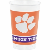 Clemson University 20 oz Plastic Cups 96 ct