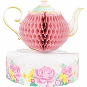 Floral Tea Party Centerpieces 6 ct