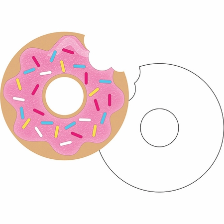 Donut Time Invitations 48 ct