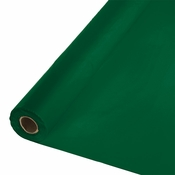 Touch of Color Hunter Green Banquet Table Roll in quantities of 1 / pkg, 1 pkg / case