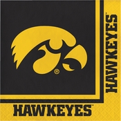 University of Iowa Luncheon Napkins 240 ct