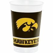 University of Iowa 20 oz Plastic Cups 96 ct