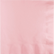 Classic Pink Beverage Napkins 240 ct
