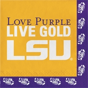 Louisiana State University Luncheon Napkins 240 ct