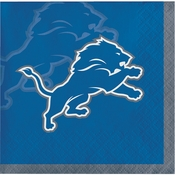 Detroit Lions Beverage Napkins 192 ct