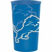 Detroit Lions 22 oz Plastic Cups 20 ct