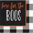 Here for the Boos Halloween Beverage Napkins 192 ct