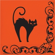 Halloween Symbols Luncheon Napkins 192 ct
