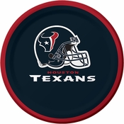 Houston Texans Dessert Plates