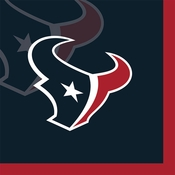 Houston Texans Beverage Napkins