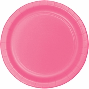 Candy Pink Dinner Plates 96 ct