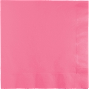 Candy Pink Beverage Napkins 240 ct