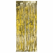 Gold Foil Door Curtain 6 ct