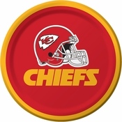 Kansas City Chiefs Dessert Plates