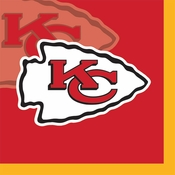 Kansas City Chiefs Beverage Napkins