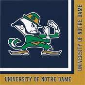 University of Notre Dame Luncheon Napkins 240 ct
