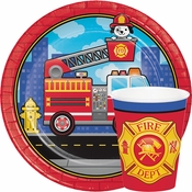 Fire Truck Party Supplies