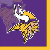 Minnesota Vikings Beverage Napkins
