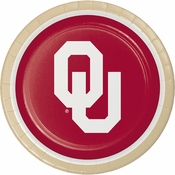 University of Oklahoma Dinner Plates 96 ct