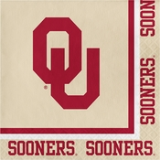 University of Oklahoma Luncheon Napkins 240 ct