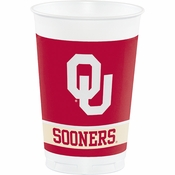 University of Oklahoma 20 oz Plastic Cups 96 ct