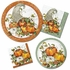 Bountiful Cornucopia Dinner Plates 96 ct