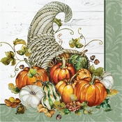 Bountiful Cornucopia Luncheon Napkins 192 ct