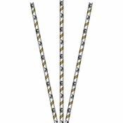 Bulk New Orleans Saints Paper Straws 144 ct - Napkins.com