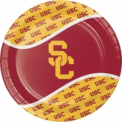 University of Southern California Dinner Plates 96 ct