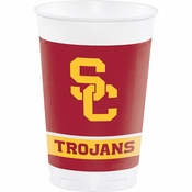University of Southern California 20 oz Plastic Cups 96 ct