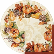 Autumn Wreath Party Supplies