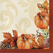 Autumn Wreath Luncheon Napkins 192 ct