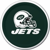New York Jets Dessert Plates